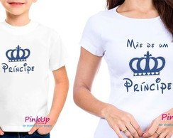 Kit 2 Camisetas - Príncipe