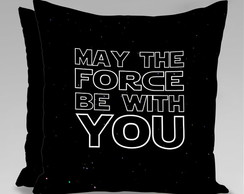 CAPA ALMOFADA STAR WARS - MAY THE FORCE2
