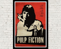 Quadro cinema Pulp Fiction