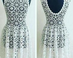 Vestido De Noiva Em Croche Elo7