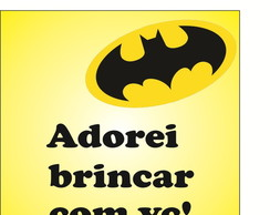 Tag de Agradecimento do Batman