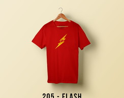 205 - Camiseta Flash Minimalista