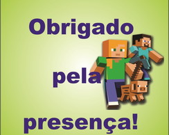 Tag de Agradecimento do Minecraft