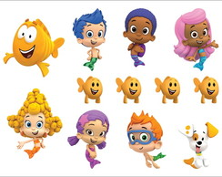 Adesivos - Bubble Guppies