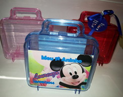 Maletinha Acrilica Minnie - Mickey