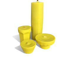 Kit 4 velas decorativas citronela