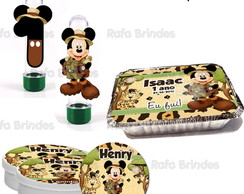 Kit Festa Infantil Mickey Safari