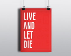 Lambe-lambe: Live and let die