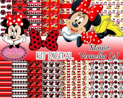 Kit Digital Minnie Vermelha (4)