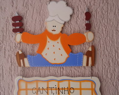 Placa Decorativa Cantinho do Churrasco