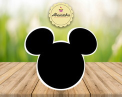 Kit 100 unid Aplique Mickey