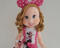 Boneca Person. Minnie Rosa