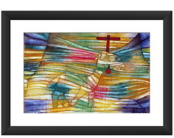 Quadro Arte Abstrato Decoracao Paul Klee
