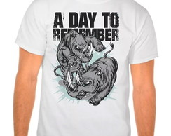 Camiseta Branca A Day To Remember