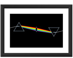 Quadro Pink Floyd Dark Side Bandas Rock