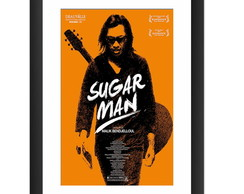 Quadro Sugar Man Filme Banda Rock Cult