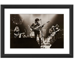 Quadro Thin Lizzy Banda Rock Hard Musica