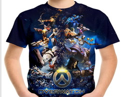 Camiseta Infantil Overwatch MD01