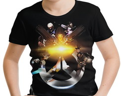 Camiseta Infantil Overwatch MD03