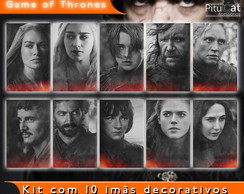 Game of Thrones 10 imãs temp 4