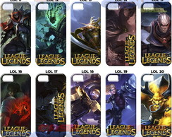 Capinha Celular League of Legends - LOL