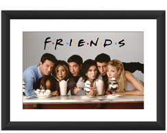 Quadro Friends Serie Milk Shake Seriado