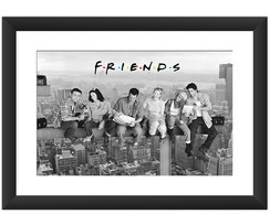 Quadro Friends Seriado Serie Decoracao