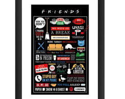 Quadro Friends Serie Seriado Decoracao
