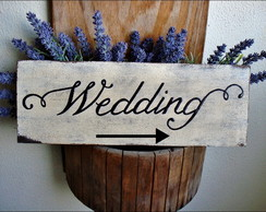 Placa Wedding