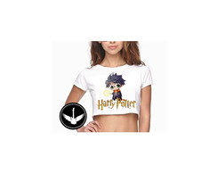 Blusa Cropped Harry Potter