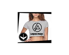 Blusa Cropped Linkin Park