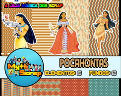Kit Digital Scrapbook POCAHONTAS