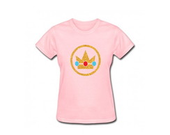Camiseta Adulto Princesa Peach MarioBros