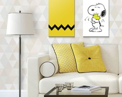 Kit Quadro Decorativo - Poster Snoopy