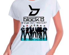 Camiseta Babylook Block B Integrantes