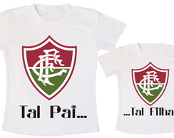 c7877ab62d Camisetas Tal Pai Tal Filho Fluminense no Elo7