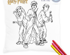 Almofada para colorir Harry Potter C/Can