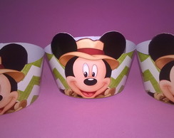 Saia mini cupcake Mickey Safari