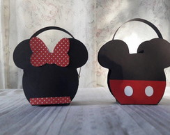 Bolsinha Minnie e mickey