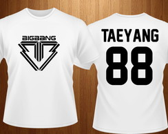 Camiseta- Big Bang - kpop
