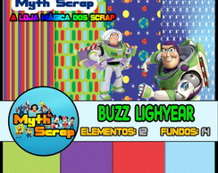 Kit Digital Scrapbook BUZZ LIGHYEAR