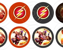 The Flash Toppers Adesivos