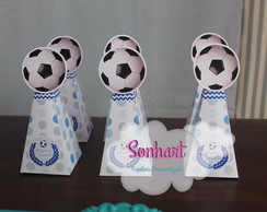 ... Caixa Pirâmide tema Bola de Futebol 3a0a069639f02