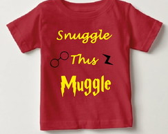 Camisetinha Harry Potter Snuggle