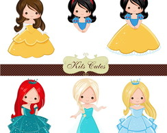 Kit Digital Princesas 11