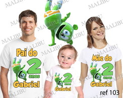 Camiseta Gummy bear com 5 REF00