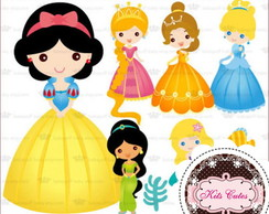 Kit Digital Princesas 13