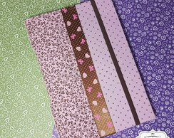 Caderno A5 Costura Longstitch