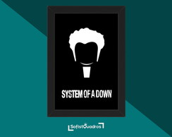 Quadro minimalista System of a Down