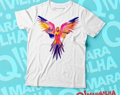 Camiseta Masculina - Arara Pop Art